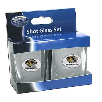 Missouri Tigers NCAA 2 oz Square Shot Glass Set