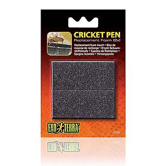 Exo Terra Cricket Pen Replacement Sponge (2pk)