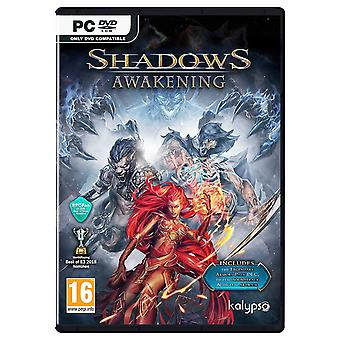 Shadows Awakening PC DVD spel