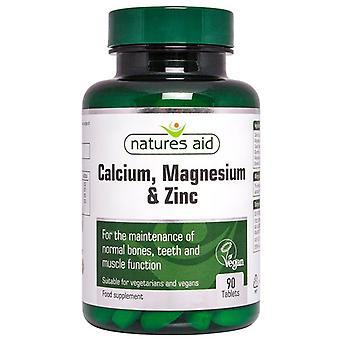 Nature's Aid Calcium; Magnesium & Zinc Tablets 90 (120430)