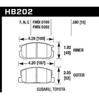Hawk Performance HB202F.580 HPS