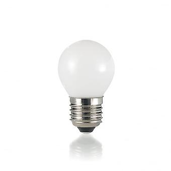 Ideal Lux Light Bulb Classic E27 4W Sfera White