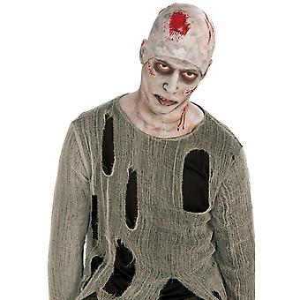 Bristol Novelty Unisex Adults Zombie Bald Cap