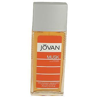 Jovan musk body spray by jovan   534724 75 ml