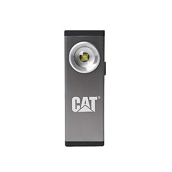 Caterpillar Unisex Aluminium Rechargeable Pocket Spot Light 200LM Grey/Silver