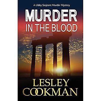 Assassinato no sangue (uma série de mistério do assassinato de Sarjeant do Libby)