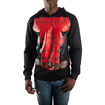 Deadpool lichtgewicht pak omhoog kostuum Hoodie