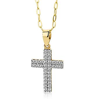 Miore MA9049ZN - Chain with women's pendant - 9k yellow gold (375) - 450 mm