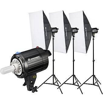 BRESSER BRM-300AM Studio Flash Set 3x 300W