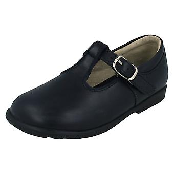 Girls Startrite Leather Classic Buckle Shoes Jo