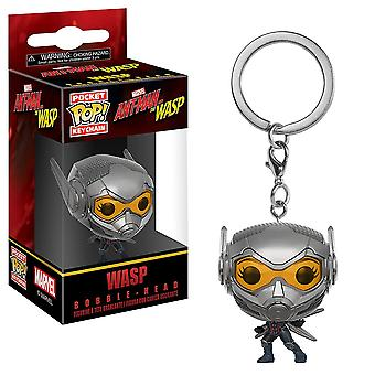 ANT-Man ja ampiainen WASP Pocket Pop! Avaimenperä