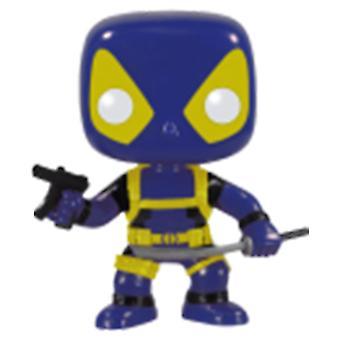 X-Men Deadpool Blue & Yellow Pop! Vinyl