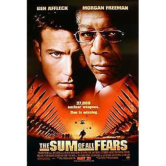 The Sum Of All Fears (Regular Double Sided) Original Cinema Poster