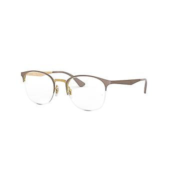 Ray-Ban RB6422 3005 Gold On Top Matte Beige Glasses