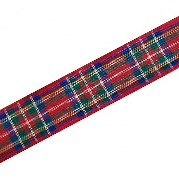 Union Jack Wear Red Tartan Ribbon