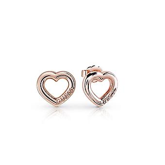 Guess Jewellery Guess Grace Rose Gold Earrings UBE84022