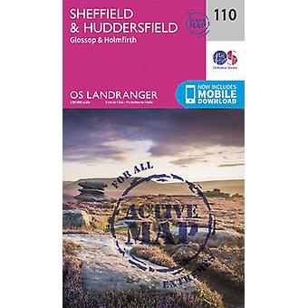 Sheffield & Huddersfield - Glossop & Holmfirth by Ordnance Survey - 9