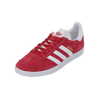 Adidas Originals GAZELLE Women's Sneaker Red Turn Shoes Sport Running Shoes