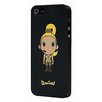 Celebridols Black Mad Hull For Apple IPhone 5