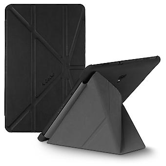 Stand Folio Cover Case For Samsung Galaxy Tab A 10.5 Origami-Gecko Covers, Black