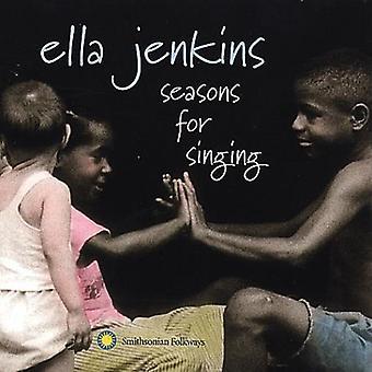 Ella Jenkins - Temporadas para cantar [CD] EUA importação