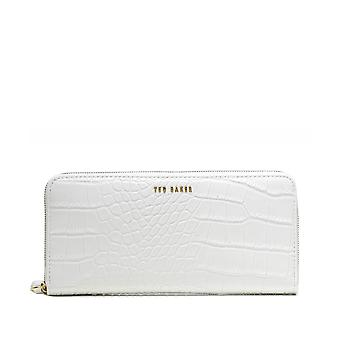 Ted Baker Stelyys Croc Print Leather Matinee Purse