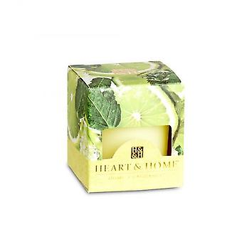 Heart & Home Votive Candle Lime Splash