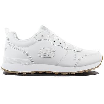 Skechers OG 85 Street Sneak Low 113-WHT Damen Schuhe Weiß Sneaker Sportschuhe