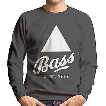 Bass Estd 1777 Black Triangle Men's Sweatshirt