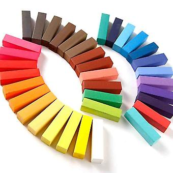 36 Chalk Hair Colours Temporary Hair Colors Chalk Colours In 36 Bright Shades