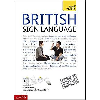 British Sign Language - Teach Yourself - Book and DVD Pack by Paul Redf