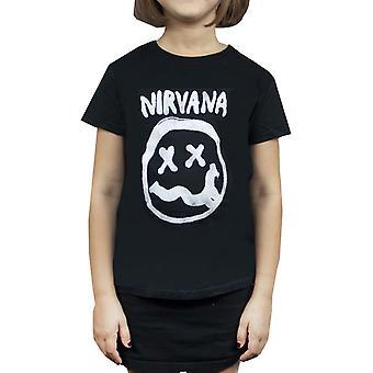 Nirvana Smiley Logo Girl's T-Shirt