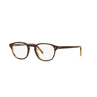 Oliver Peoples Fairmont OV5219 1310 Tortoise Paski Okulary miodu