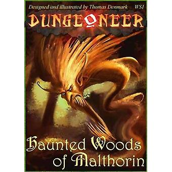 Dungeoneer 2nd Edition Haunted Woods of Malthorin Strategy Board Game