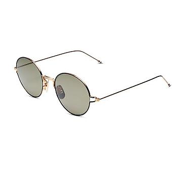 Thom Browne TBS915 02 White Gold Black Enamel/G15 Sunglasses