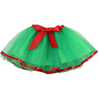 Jastore Baby Girls Layered Party Green Tutu Skirt Dance Princess Ballet Dress