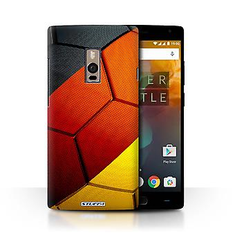 STUFF4 Case/Cover for OnePlus 2/Two/Germany/German/Football Nations