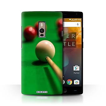 STUFF4 Pokrywę dla OnePlus 2/2/Red Ball, Cue, Snooker