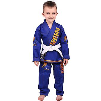 Tatami Fightwear Meerkatsu Kids Animal BJJ Gi - Royal Blue