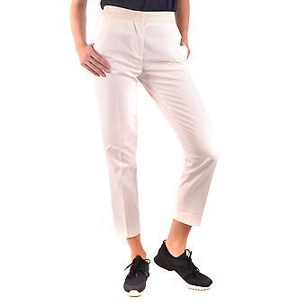 Moncler Ezbc014104 Women's White Cotton Pants
