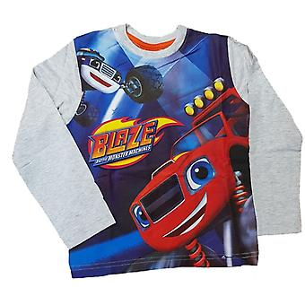 Blaze and the monster machines boys t-shirt long sleeve