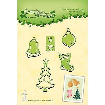 LeCrea - Lea'bilitie Christmas ornaments smal cut&emboss die 45.0850