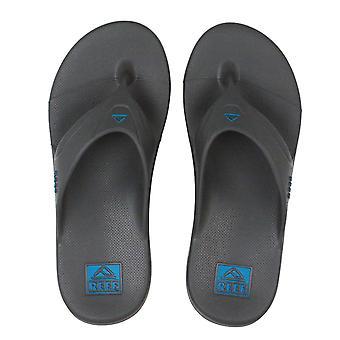 Reef Mens Waterproof Sandals ~ Reef One grey blue