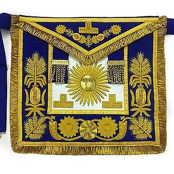 Deluxe masonic past grand master apron grand lodge