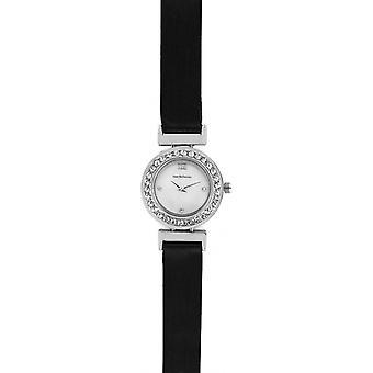 Jean Bellecour REDL3 Watch - Black Satin Watch and Woman