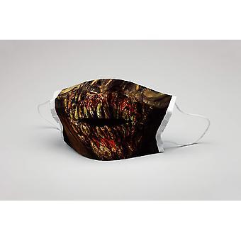 Ağız maskesi zombi dişleri yıkanabilir maske koruyucu maske zombi maskesi ökotex