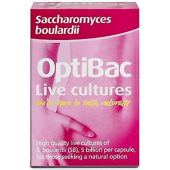 Optibac Saccharomyces Boulardi Capsules 16