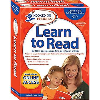 Hooked on Phonics Learn to Read - Levels 1&2 Complete - Early Emer