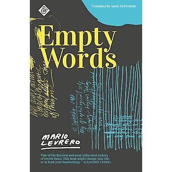 Empty Words by Annie McDermott - 9781911508502 Book