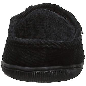 MUK LUKS Men's Corduroy Moccasin with Flannel Lining Slip-On Loafer